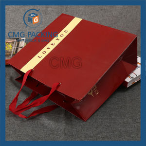 China Custom Logo Printed Packing Little Paper Bags Wholesale (DM-GPBB-101) pictures & photos