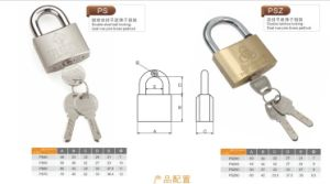 Double Steel Ball Locking, Brass Padlocks pictures & photos