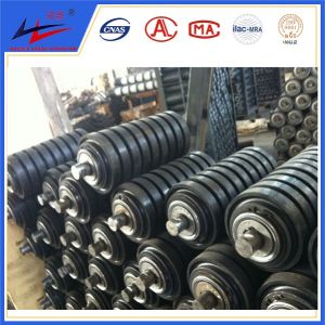 Conveyor Steel Rubber Impact Roller Idler pictures & photos