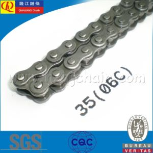 06c Short Pitch Carben Steel Transmission Roller Chain pictures & photos