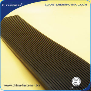 Customized Railroad Parts Rail Rubber Padrubber Pads for Sleepers, Railway Rail Rubber Pad