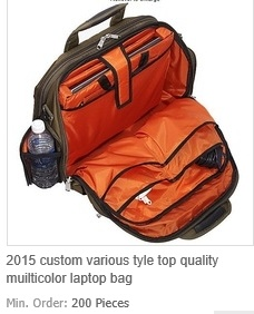 Various Tyle Top Quality Muilticolor Laptop Bag
