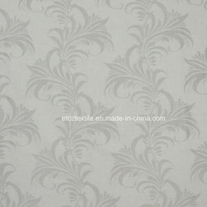 Newest Linen Touching Jacquard Curtain Fabric pictures & photos