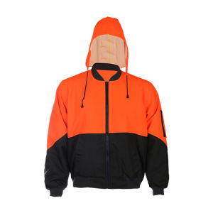 High Visibility Winter Work Safety Jacket pictures & photos