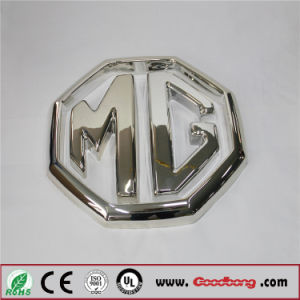 Acrylic Metal Luster Electroplate LED Lighten Car Emblem pictures & photos
