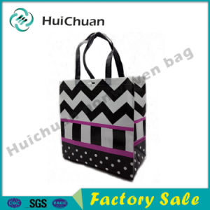 New Design Plain Style Ultrasonic Technology Nonwoven Tote Bag pictures & photos