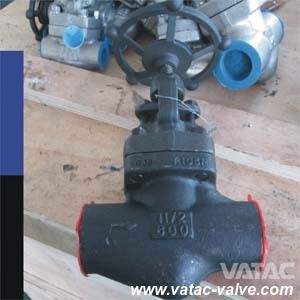 A105 Forged Steel Cl800 NPT&Sw&Bw Globe Valve pictures & photos