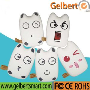 Promotional Gift Gadget Portable Mobile Phone Cartoon Power Bank with RoHS pictures & photos
