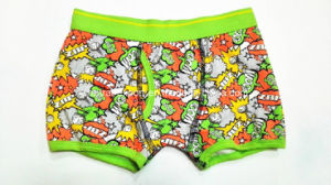Allover Printed New Style Opening Boy Boxer Brief Underwear pictures & photos