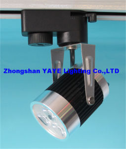 Yaye CE/RoHS 3 Years Warranty 3W LED Track Light / 3W LED Track Lmap with pictures & photos