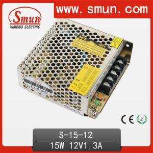 15W 12V 1.3A Switch Mode Power Supply SMPS S-15-12 pictures & photos
