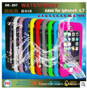 Three Anti-Protective Sk-207 Mobile Phone Case for iPhone 6 pictures & photos