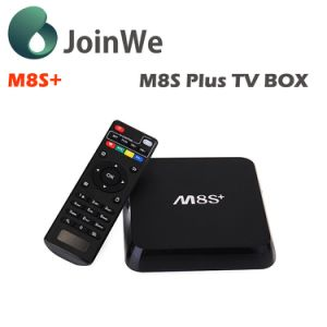Wechip Newest Model Android 5.1 Ethernet M8s Plus TV Box pictures & photos