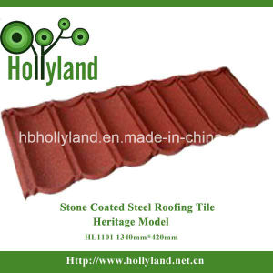 Colorful Stone Coated Steel Roofing Tile (Classical Tile) pictures & photos
