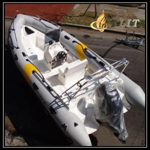 PVC Fishing Inflatable Boat pictures & photos