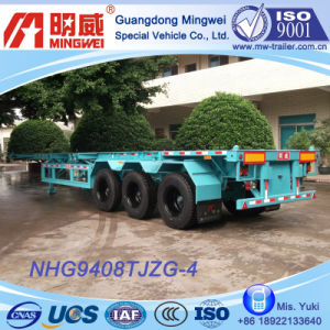 3 Axles Framework Semi Trailer (NHG9408TJZG-4A)