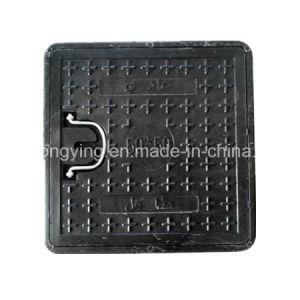 Black Square Composite Manhole Cover