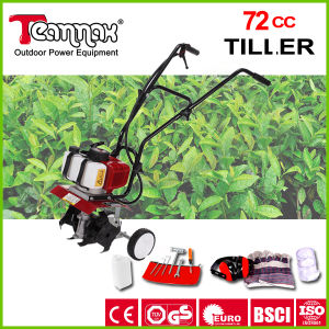 72cc Best Price High Power Garden Hand Push Cultivator pictures & photos