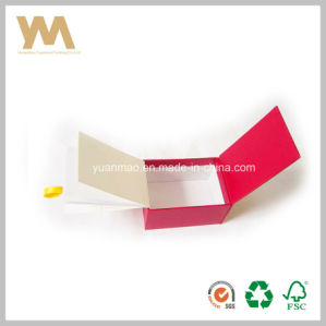 Luxury Cosmetic Packing Gift Paper Box with Ribbon pictures & photos