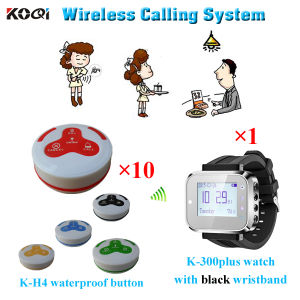 Restaurant Wireless Guest Service Calling System With100% Original pictures & photos