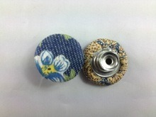 Wholesale Custom Fabric Cover Button for Shoes pictures & photos