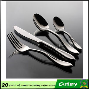 Stainless Steel Spoon Knife Fork Teaspoon 4 Piece Cutlery pictures & photos