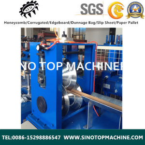 Paper Edge Board Corner Protector Making Machine Made in China pictures & photos
