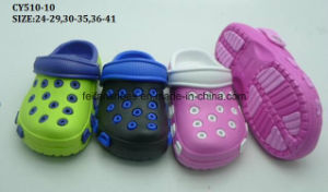 New Design Children EVA Clogs EVA Garden Shoes Women Garden Shoes (CY510-10) pictures & photos