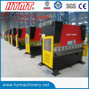 WC67Y-40X2000 small type hydraulic carbon steel press brake pictures & photos
