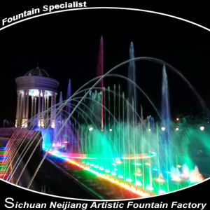 Villa Music Fountain with Colorful Lighting pictures & photos