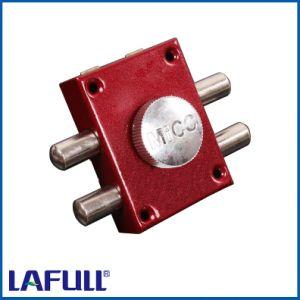 555 Iron Lock Case Plastic Knob Door Rim Lock pictures & photos
