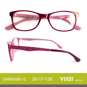 Handmade Eye Glasses Optical Frames with New Design pictures & photos