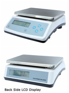 Double Display Platform Scale 30kg 1g pictures & photos