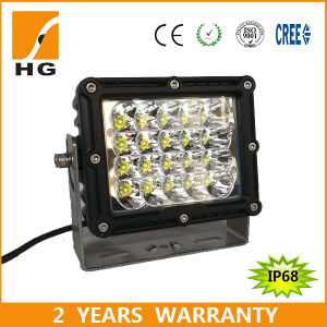 Square 7′′ 100W LED Driving Light for Truck pictures & photos