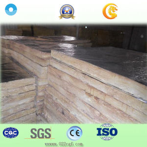 Aluminum Foil Rock Wool Slab for Thermal Insulation Material