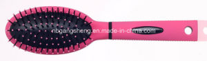 2015 New Handle Palstic Massage Paddle Hair Brush for Women pictures & photos