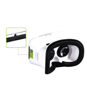 Optical Lens Headset Virtual Reality Vr Box/Case Movie/Book/Photo/Game 3D Glasses for Smart Phone 4.7-6 Inch