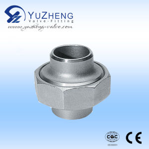 Stainless Steel M/M Thread Round Nipple pictures & photos