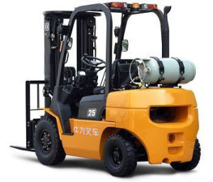 LPG Forklift with Japanese K21 Engine pictures & photos