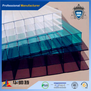 High Quality Solid Plastic Hollow PC Sheet (PC-H5) pictures & photos