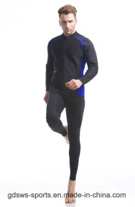 Fashion Adult Full Front Zipper Wetsuit for Surfing Diving pictures & photos