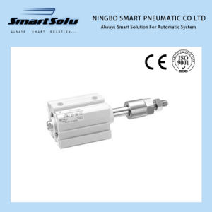 Sda Series Sdaj (Double Shaft Double Acting Adjustable Type) Compact Air Cylinder pictures & photos