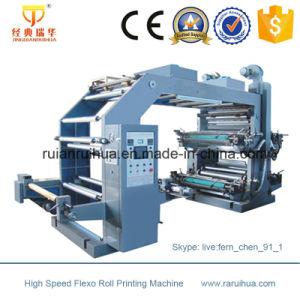 Economical 4 Color Flexographic Printing Machine pictures & photos