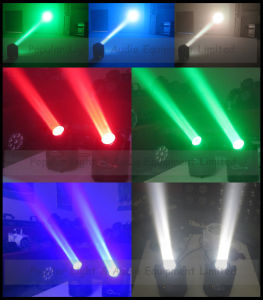 Mini Disco Light 60W LED Moving Head Beam Light with Unlimited Rotation pictures & photos