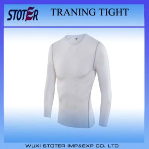 Skin Tight Gym Training T-Shirt Short Sleeve Fitness Sports T-Shirts pictures & photos