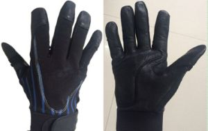 High Quality Baseball Bat Batting Gloves (BLACK) (05) pictures & photos