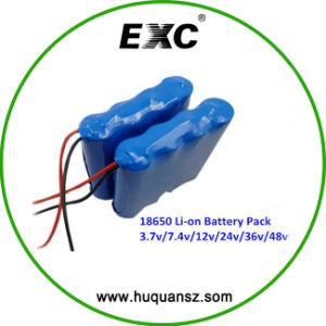 Lithium Battery LED Countdown Timer 12V 15ah 18650 Battery Pack pictures & photos