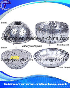 Wholesale Foldable Stainless Steel Steamer Plate Fruit Tray pictures & photos