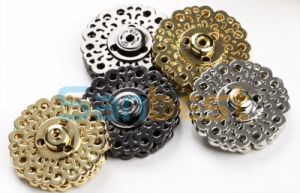 High Quanlity Fancy Metal Buttons for Garments pictures & photos