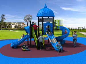 New Design Manufacturer for Children Kids Outdoor/Indoor Playground Big Slides for Sale European and Korea Castle pictures & photos